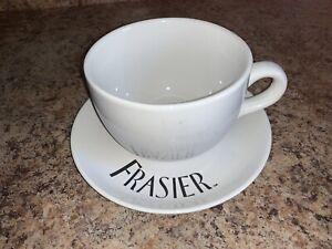 Vintage Frasier TV Show Coffee mug & saucer Dr Crane Kelsey Grammer plate & cup