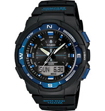 Casio SGW500H-2BV, Resin Watch, Compass, Thermometer, 5 Alarms, World Time
