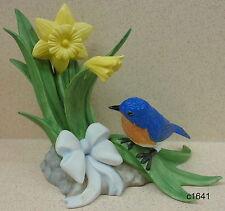 Lenox Garden Bird Series 10th Anniversary Millennium Bluebird - New In Box