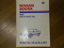1997 nissan 200sx wiring diagram other manuals   literature for nissan 200sx for sale ebay  nissan 200sx for sale