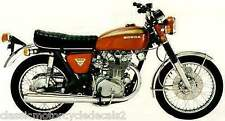 HONDA CB450K PAINTWORK DECAL SET