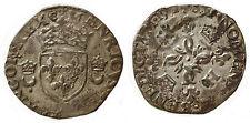FRANCE -  HENRI II, douzain aux croissants 1551