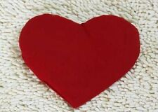 Heart Shape Red Pillow Hot Microwave Warming Aromatic Herbs Hand Made Natural