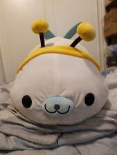 San-x Mamegoma Seal Bumblebee Bee Costume Plush