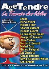"""DVD """"Age tendre - La tournée des idoles - Saison 5"""" - 2 DVD  NEUF SOUS BLISTER"""