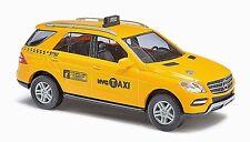 HO 1/87 Busch # 43314 Mercedes-Benz ML-Class, NYC Taxi