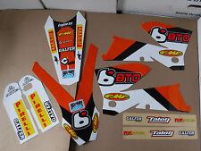TEAM BTO KTM GRAPHICS 2005 2006 SXF SX XC XCF & 2006 2007 EXC XCFW  XCW EXCF