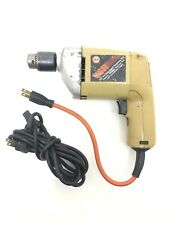 "BLACK & DECKER 7127 3/8"" Variable Speed Reversing Corded Drill W/ Extension Cord"