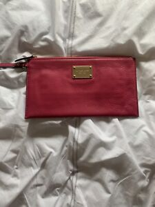 Michael Kors Pink Clutch Bag