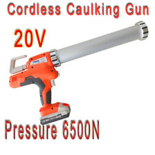 20V Lithium Li-ion battery powered Electric Cordless Caulking Gun 6500N