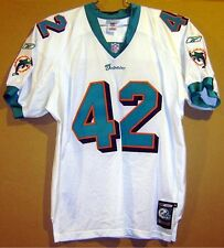 MIAMI DOLPHINS SULLIVAN WHITE #42 AUTHENTIC NFL Reebok Size 52 JERSEY