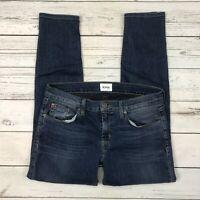Hudson Finn Boy Skinny Jeans Size 27 Womens WC4127DEH Medium Wash Stretch
