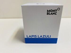 montblanc lapis lazuli ink bottle 30ml nos