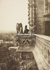 The vampiri Notre DAME Parigi gotico cattedrali STATUA PERSONAGGIO città Photo S 038
