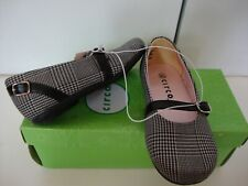 Circo Toddler GirlBlack & White Hounds Tooth Mary Janes Dress Shoes 9.5 New Box