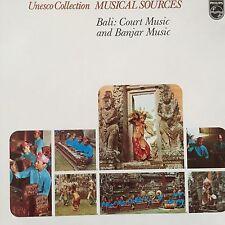 6586 008 Unesco Collection Musical Sources Bali: court Music & Banjar Music