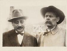 MAXIME GORKI Russie Socialisme SHOLEM ASCH Yiddish Ecrivain Judaïca Photo 1928