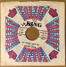 """Northern Soul 45 - Dolores Gibson - True Love - King 45-5689 - 7"""" Promo"""