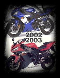 AUFKLEBER-LOGO-SET Y YZF R1 2002-2003