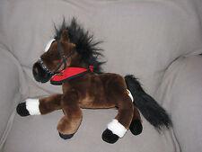 MAGGIE BAY HORSE WELLS FARGO pony 2007 toy PLUSH stuffed FLUFFY MANE & TAIL