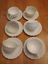 6 Macbeth Evans Chinex Classic Cup And Saucer sets