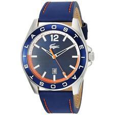 Lacoste Original 2010928 Men's Westport Blue Leather Strap Watch 43mm