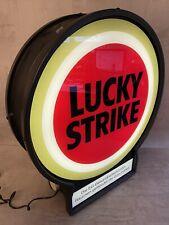 Seltene Lucky Strike Leuchtreklame Neon Zigaretten Reklame Werbe Lampe