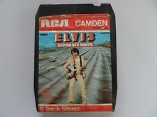 Vintage RCA Camden Elvis Separate Ways 8 Track Stereo Cartridge Cassette Music