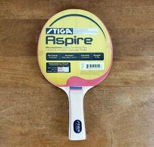 Stiga Aspire Premium Ping Pong Table Tennis Paddle, NEW