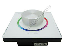 RF 2.4G + DMX512 Knob Panel RGB Led Dimmer Dimming DX63 For Led Light Bulb Lamp