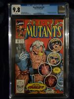 New Mutants #87 CGC 9.8 1990 1st full app. Cable