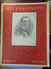 Musiker Portraits S. Rachmaninoff Klavier-Album B. Schotts Söhne Rachmaninow