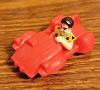 Vintage McDonald's Happy Meal Toy-Fred Flintstone in Car and Bowling Alley 1993
