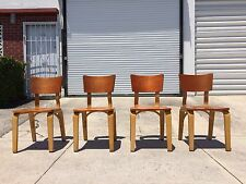 4 cool thonet chairs bentwood nelson mccobb eames mid century 1950ies