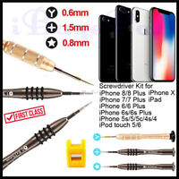 Kit de réparation de tournevis pour iPhone 6 4S 5 5S 6S 7 8 X 7 Plus outils