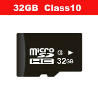 32GB Micro TF Card Class 10 TF Flash Memory Mini Card For Action Dash Cam