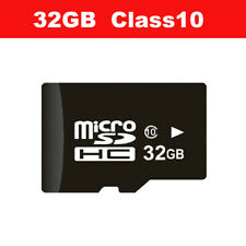 32GB Micro SD Card Class 10 TF Flash Memory Mini SDHC SDXC For Action Dash Cam