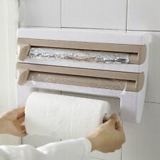 Multi-function Cling Film Cutter Storage Rack 1Pc Storagehelf Upplies Kitchen