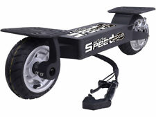 MotoTec Speed Go Electric Skateboard Scooter 36V 10AH Li-ion 20MPH 17miles BLACK