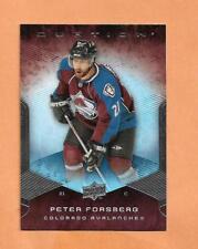 PETER FORSBERG  UPPER DECK OVATION 2008 - 2009  CARD # 163