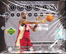 Upper Deck Not Autographed Box Basketball Trading Cards