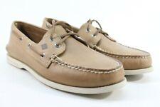 Sperry Top-Sider Men's A/O 2-Eye Oatmeal Boat Shoe FLSAMP