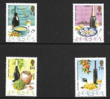 JERSEY 2005 EUROPA GASTRONOMY  SG 1191-94 SET 4 MNH.