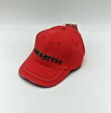 Casquette ABARTH Rally Fiat 3D Casquette Rouge Logo Brodé Chapeau Base-Ball