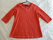Maggie T 0 NWT RRP $119 Raspberry Long Sleeved Top
