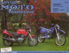 REVUE MOTO TECHNIQUE N° 98 Kawasaki KDX 125 SR - Honda CB 500 et CB 500 S