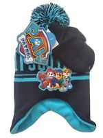 Paw Patrol Beanie & Mittens Set, Size Toddler / 2T - 4T, Black, Gloves Hat C3