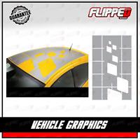 Renault RS Megane Clio Universal Roof Wrap Decal Sticker Vinyl