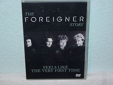 """*****DVD-FOREIGNER""""FEELS LIKE THE FIRST TIME""""-1991 Warner Music Vision*****"""