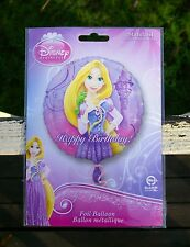 Happy Birthday! Foil Balloon Walt Disney A Tangled Tale Princess Rapunzel 17""